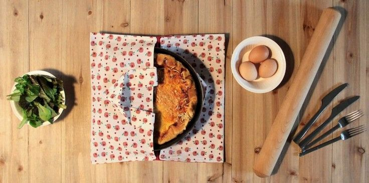 Idéal pour transporter une tarte à l'occasion d'un repas entre amis, c'est aussi une idée cadeau originale pour un anniversaire ou la fête des mères !