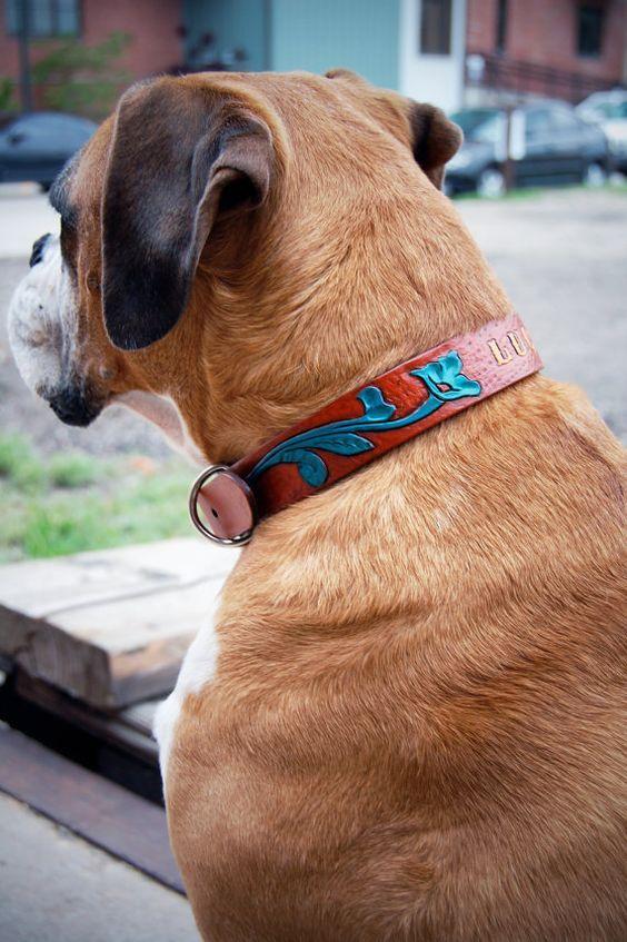 Leather Dog collar http://lomets.com