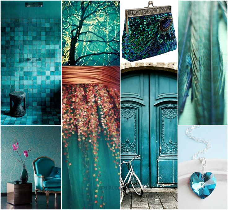 "Polish blogger Maria analyses shades of blue right for each season type: teal blue. ""For True Autumn, Deep Autumn, Deep Winter. Perhaps for True Spring."""