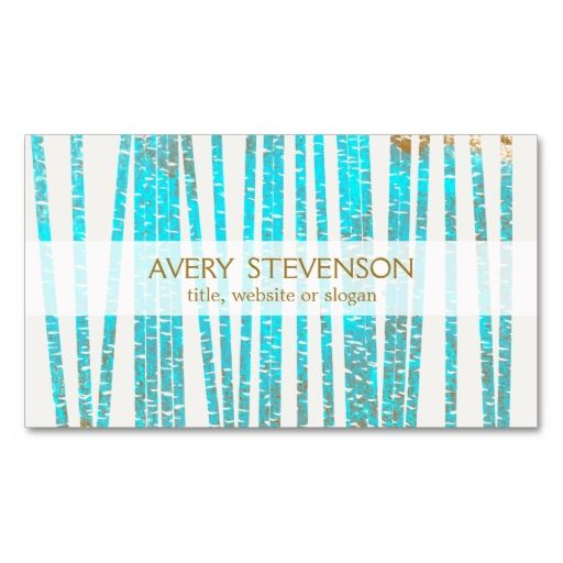 164 best business cards images on pinterest corporate identity elegant turquoise blue bamboo nature health spa business card reheart Choice Image