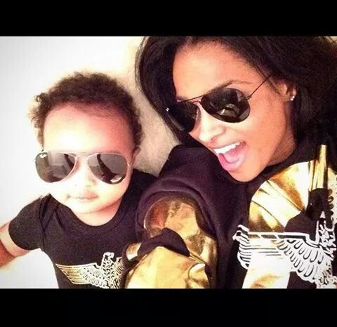So cute Ciara and future baby