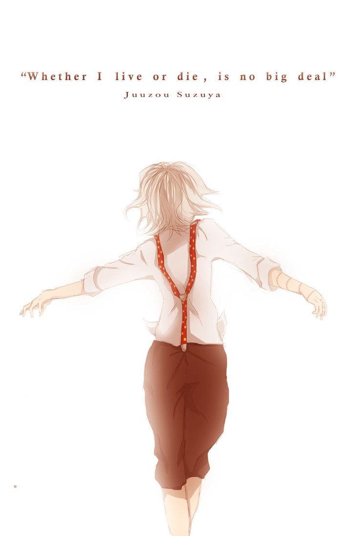 Anime Characters Like Juuzou : This kid tore my heart out t⩍t suzuya juuzou tokyo
