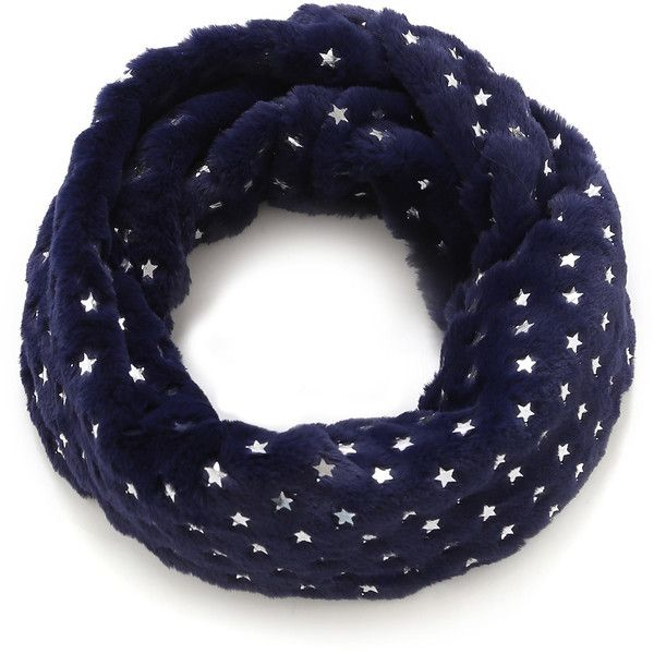 SheIn(sheinside) Metallic Star Decorated Scarf (€8,03) ❤ liked on Polyvore featuring accessories, scarves, navy, navy scarves, star scarves, metallic shawl, navy blue scarves and navy shawl