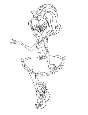 229 best images about monster high coloring page on for Operetta monster high coloring pages