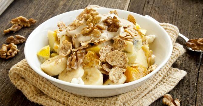 Recette de Muesli léger du matin vitaminé. Facile et rapide à réaliser, goûteuse et diététique. Ingrédients, préparation et recettes associées.