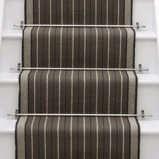 Roger Oates-british company. Contemporary runner and rugs. Denby Border Smoke