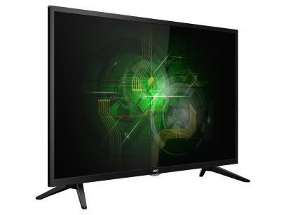 """TV LED 42"""" AOC Full HD LE42M1475 Conversor Digital - 3 HDMI 1 USB com as melhores condições você encontra no Magazine Jsantos. Confira!"""