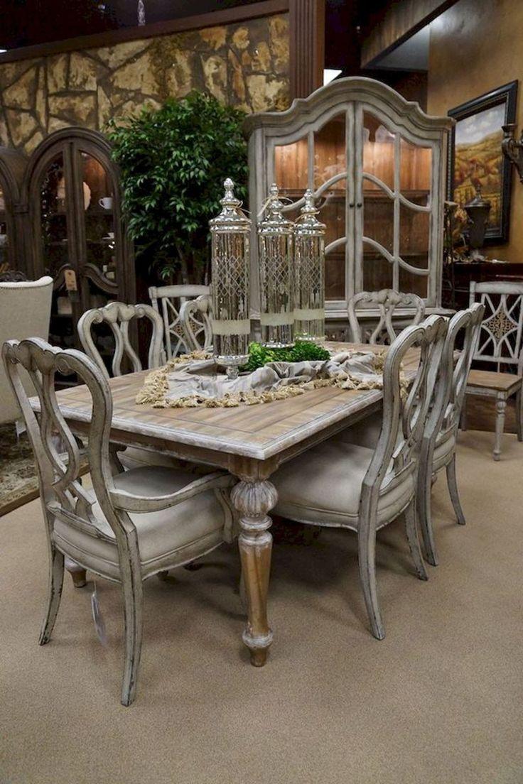 75 vintage dining table design ideas diy (29) | Shabby ...