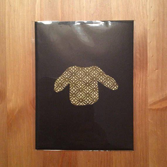 christmas sweater greeting card