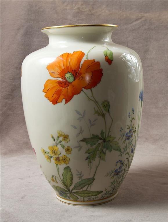 Stor vas, vackra ängsblommor, K&A Krautheim Selb Bavaria Germany