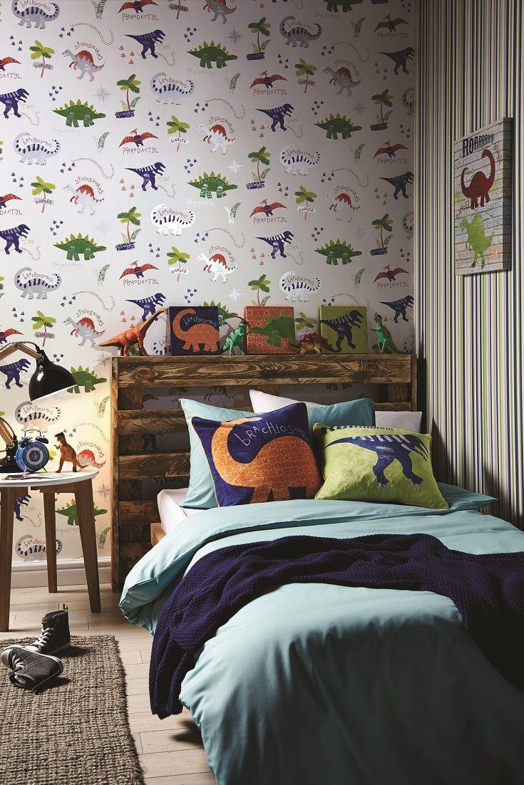 Dinosaur wallpaper design.