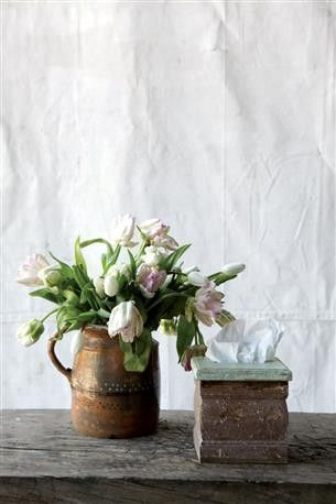 Distressed Wood Tissue Box Cover From The Home Decor Discovery Community At http://www.DecoandBloom.com