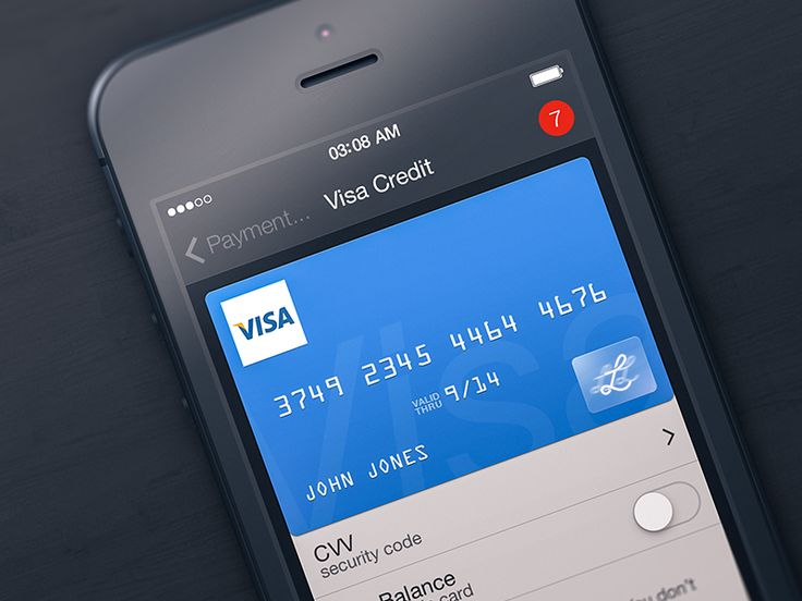 This is how your credit card will look in the upcoming Lemon version, stay tuned :)  check 2x for more details