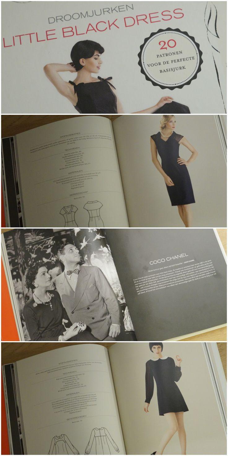 Patronenboek 'Little black dress' heeft met 20 patronen voor iedereen het perfecte zwarte jurkje.