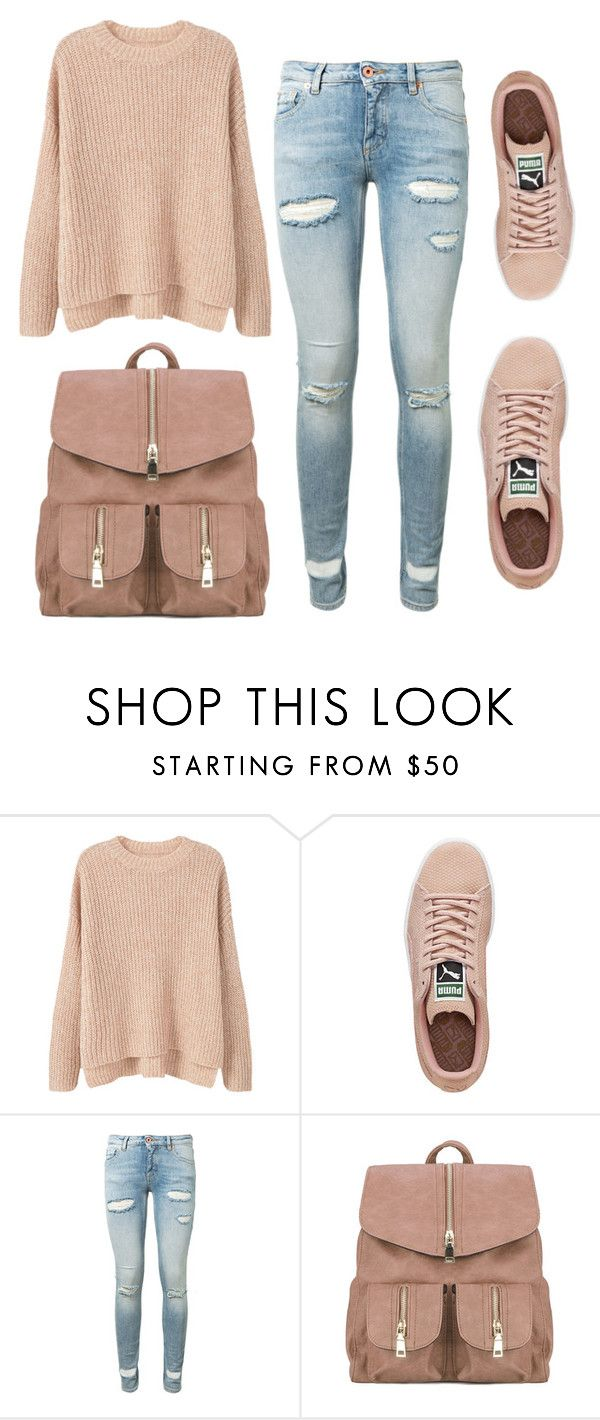 """#SM13"" by sereiamonstro ❤ liked on Polyvore featuring MANGO, Puma and Off-White"