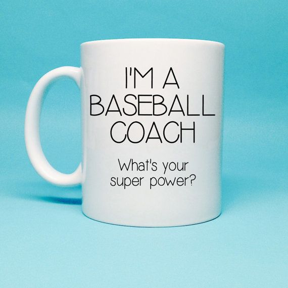 Gift For Baseball Coach  Baseball Coach by TheCoffeeCorner on Etsy