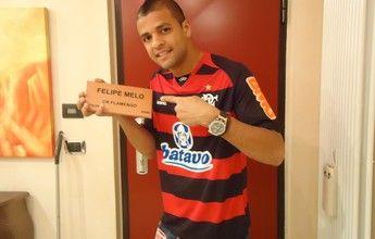 Flamengo reinicia contatos para retorno de Felipe Melo