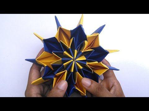 New Origami Hand Works | Fireworks | HandiWorks #02 - YouTube