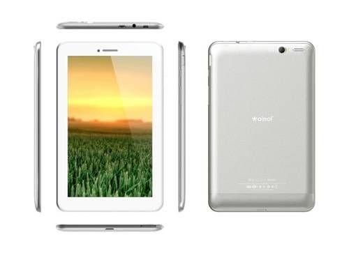 """O Tablet Ainol AX1 é um Tablet e Celular, com 2 Chips 3G e GSM, sistema operacional Android 4.2 em português com recursos de tablet 3G. Possui tela IPS de 7"""" topo de linha, com contraste e brilho superiores, touch screen capacitivo com 5 pontos de toque."""