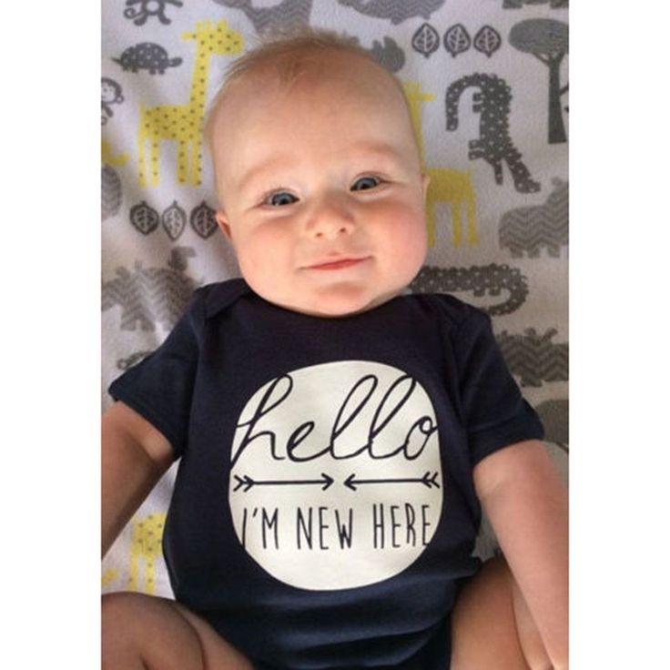 Newborn Infant Baby Boy Girl Cotton Romper Jumpsuit Bodysuit Kids Clothes Outfit – Jessica Mann