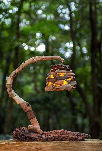 #流木の照明-1 #流木 #流木アート #屋久島 #インテリア #Driftwood art