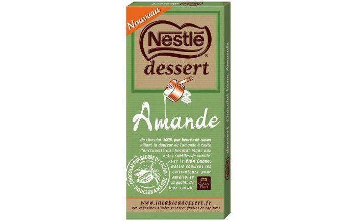 Nestlé Dessert dévoile sa nouvelle tablette à pâtisser à l'amande