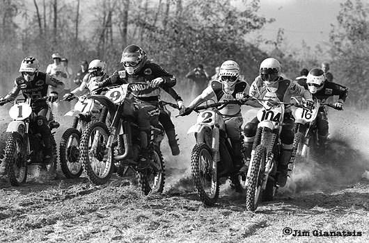 Marty Smith, Bob Hannah, Roger Decoster, Kent Howerton