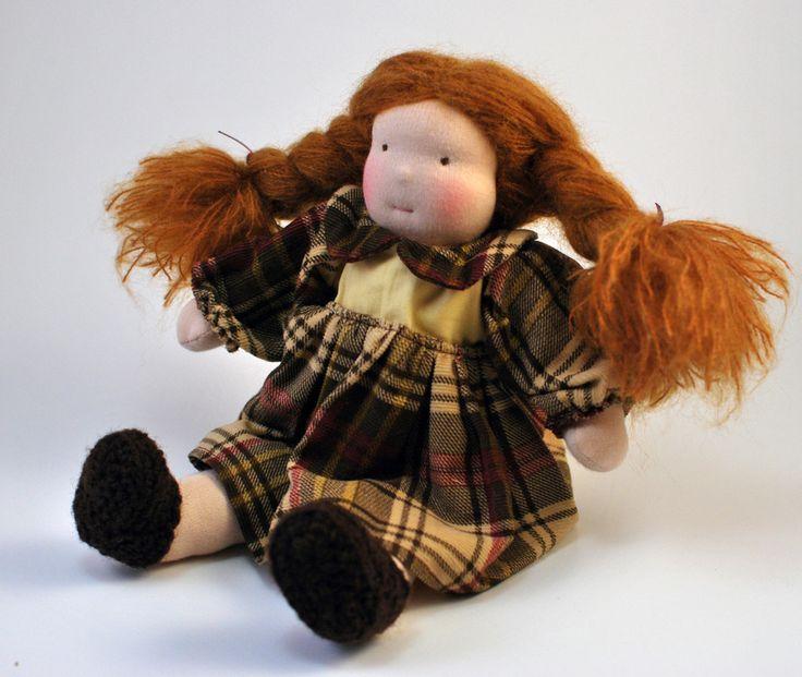 Redhead Waldorf doll   Childhood In Me