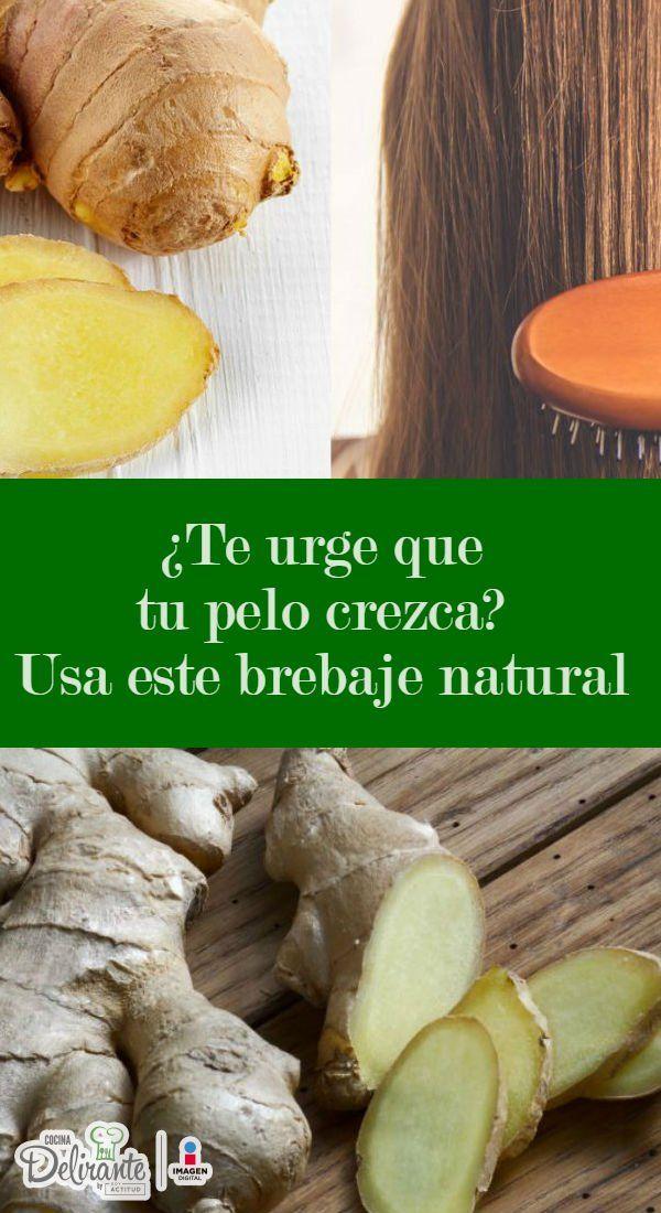 Jengibre para que crezca el pelo | CocinaDelirante