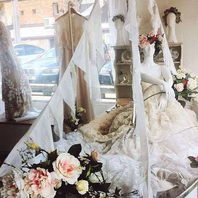 A peek at our beautiful new window display in our Auckland Flagship boutique...gorgeous