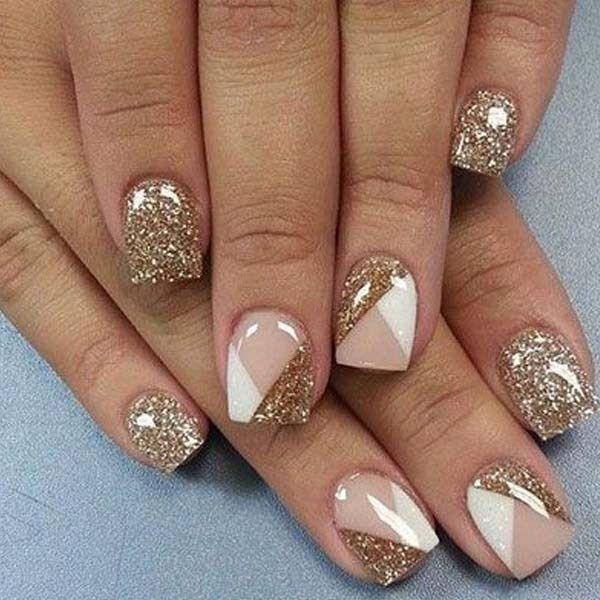 Stunning Glitter Nail Art Designs