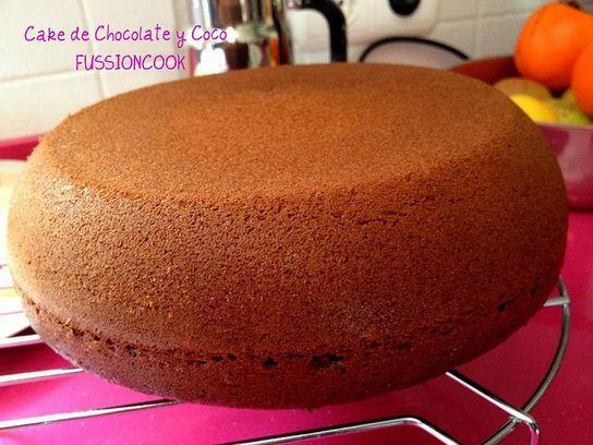 Cake de Chocolate y Coco (FussionCook)