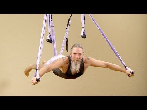 45min of Aerial Yoga in a Yoga Swing with Andrew Wrenn ❤ http://www.youtube.com/watch?v=0cqoqpZqlIQ
