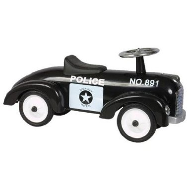 classic police car for kids ride on toy amazoncouk