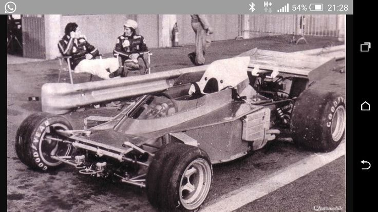 Ferrari Spazzaneve 1972