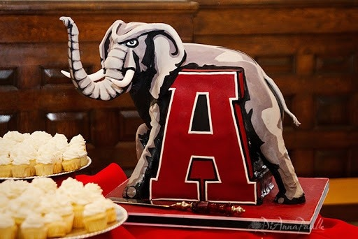 Cake Decorations Montgomery Al : 1000+ images about Alabama Crimson Tide Cakes on Pinterest ...