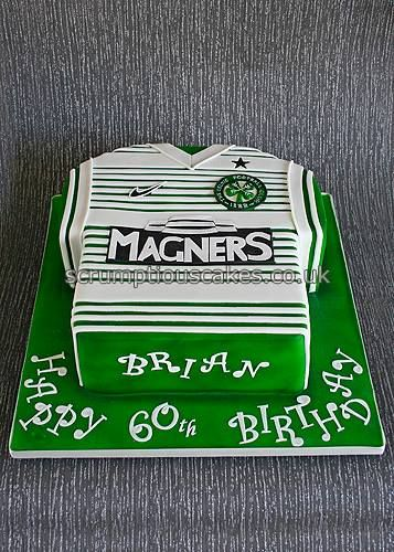 Birthday Cake - Celtic FC Strip