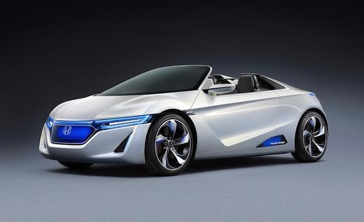 Honda EV-STER Small Sports Car Concept - Photo Gallery of Auto Shows from Car and Driver - Car Images