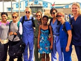 Carrie Underwood and Friends on a Mission Trip to Haiti