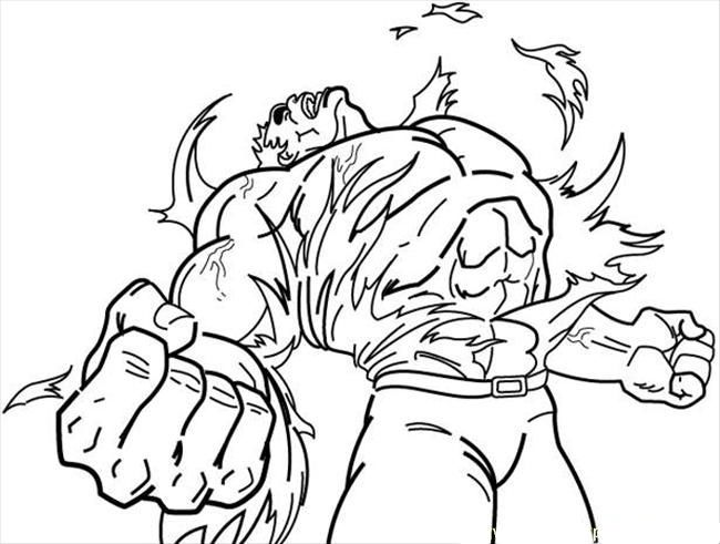 18 best images about hulk coloring pages on pinterest