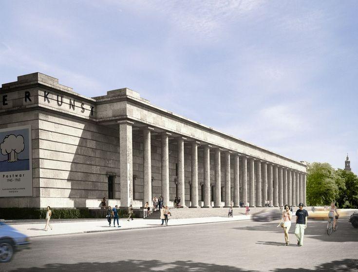 David Chipperfield . Haus der Kunst . Munich  (1)