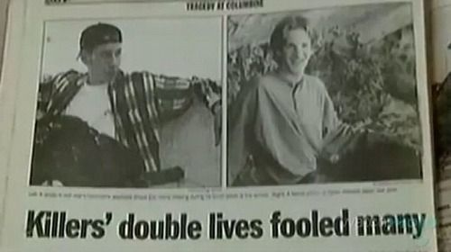 Eric Harris and Dylan Klebold #columbine