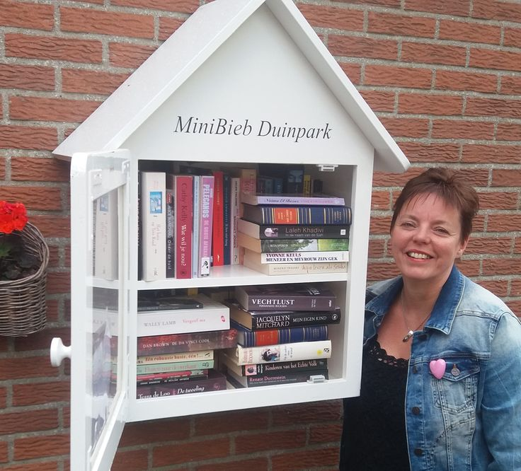 Minibieb Duinpark in Noordwijk.