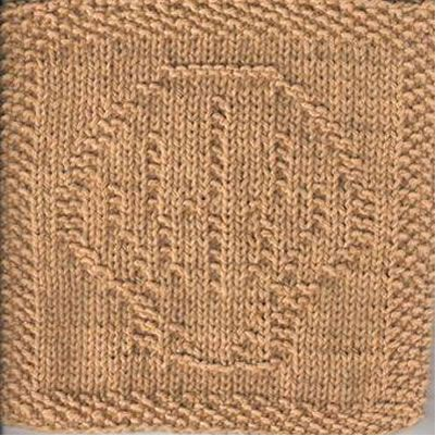 Scallop Shell Knit Dishcloth Pattern - Designs by Emily