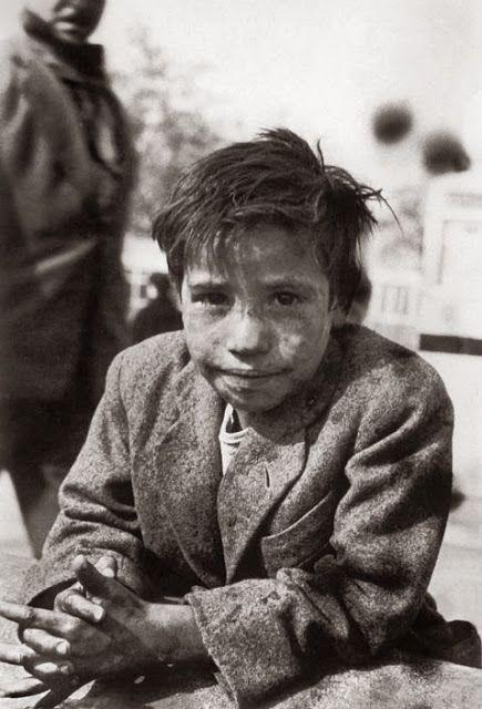 Sergio Larrain, enfant des rues