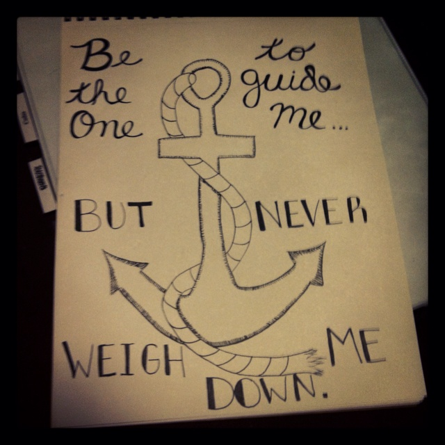 Anchor drawing Beautiful Pinterest Drawings, Love and Anchors
