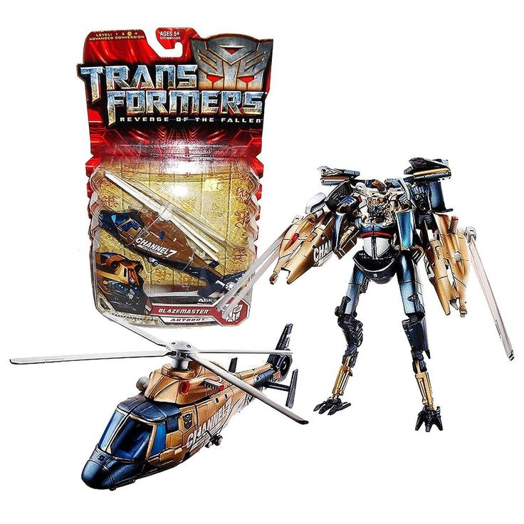 Hasbro Transformers Series 2 Revenge of the Fallen Deluxe Class Blazemaster New #Hasbro