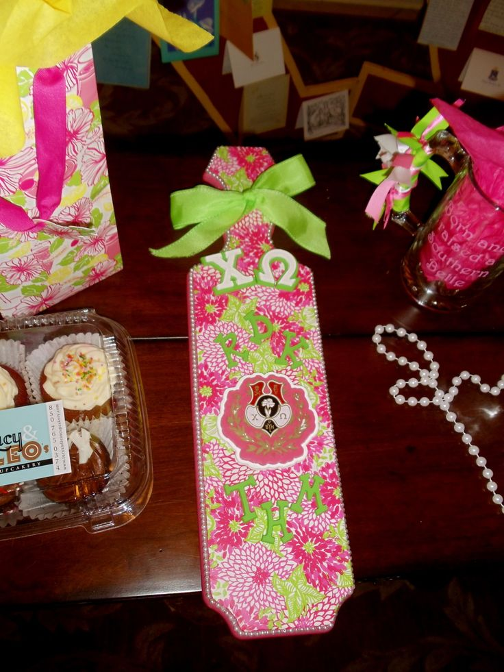 435 best images about gamma phi beta on pinterest for Sorority crafts for little