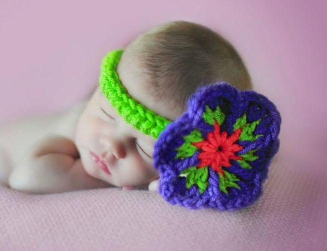 Free Crochet Patterns For Flower Headbands : 17 Best images about Crochet baby headbands on Pinterest ...