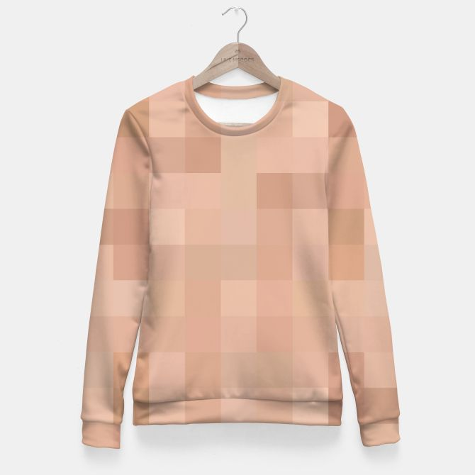 CENSRD - Aurora and Philip Fitted Waist Sweater, Live Heroes